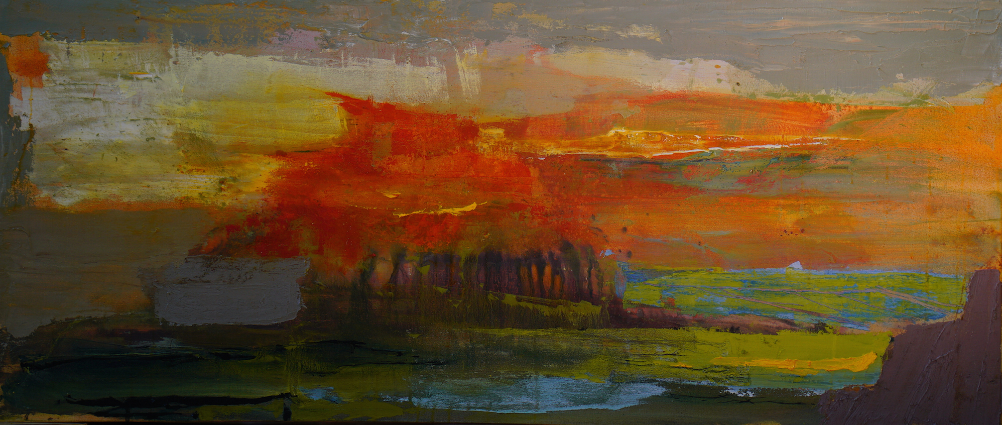 "oil on canvas, 2016, 24"" x 54"""